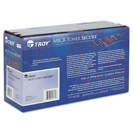 Troy Micr Toner - Troy 0282000001 78A MICR Toner Secure, 2100 Page-Yield, Black