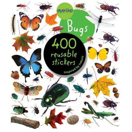 Eyelike Stickers: Bugs - Paperback (Green Bug That Looks Like A Praying Mantis)