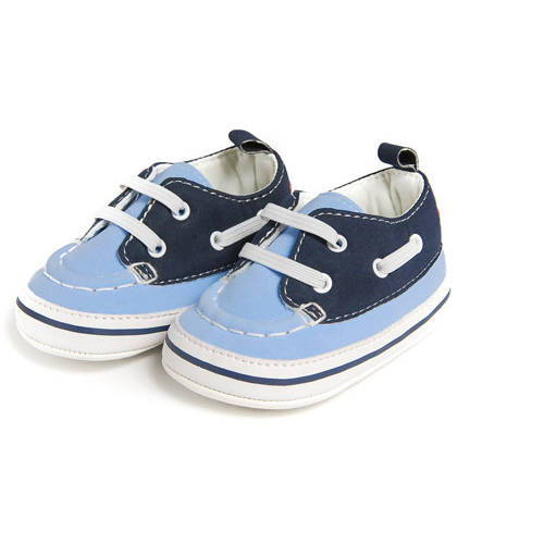 Child of Mine by Carters Newborn Baby Boy Boat Shoes