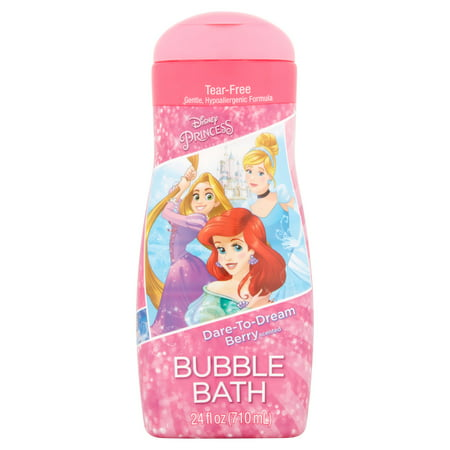 (Disney Princess Dare-to-Dream Berry Scented Bubble Bath, 24 fl oz)