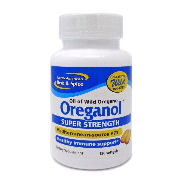 North American Herb And Spice Oreganol Super Strength 120 Capsules Walmart Com Walmart Com