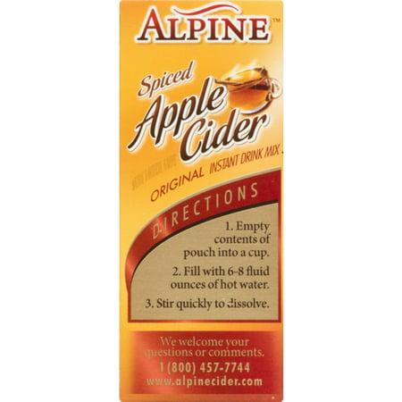 (30 Pouches) Alpine Spiced Apple Cider Drink Mix