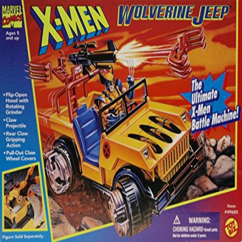Toy Biz toy X-Men Wolverine Jeep by
