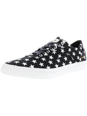 d697742d2696 Product Image Huf Men s Essex Black Star Canvas Ankle-High Skateboarding  Shoe - 11M