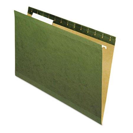 Universal 24213 Renforc- 100% recycl- pour dossiers suspendus 1-Cut-Legal-Standard Green-25/Bx / 3 - image 1 de 1