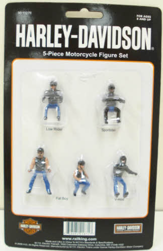 MTH 30-11076 Harley Davidson Motorcycle Figure Set by MTH