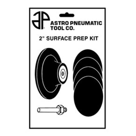 Astro Pneumatic  AST-2SPK 2 in. Surface Pad Prep Kit