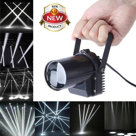 30W LED Beam Spotlight Show Party Stage DJ Disco Pub Effect Pinspot Lights