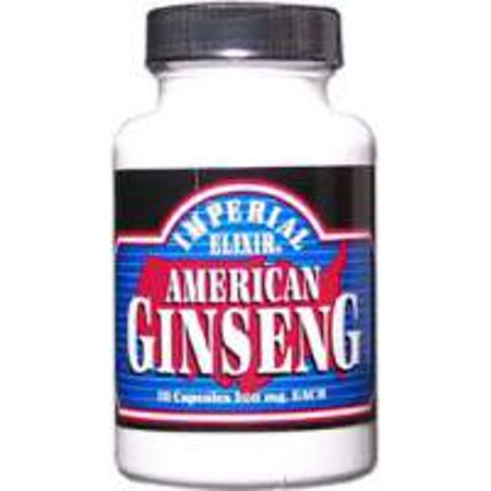 Ginseng Imperial Elixir (Ginseng Company) 50 Caps américain