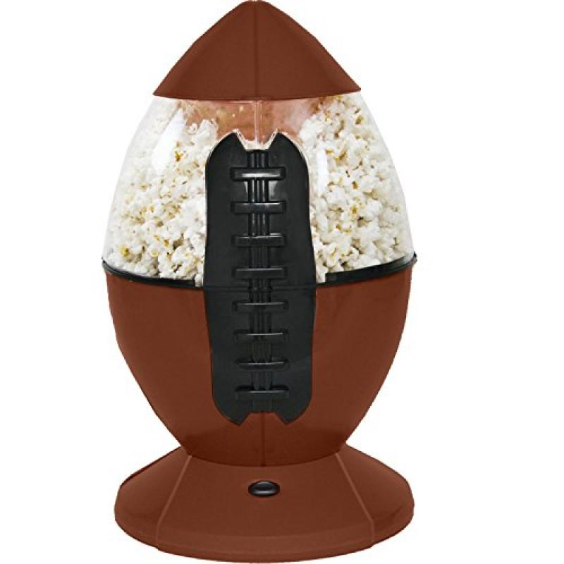 Chard Football Popcorn Maker, Brown