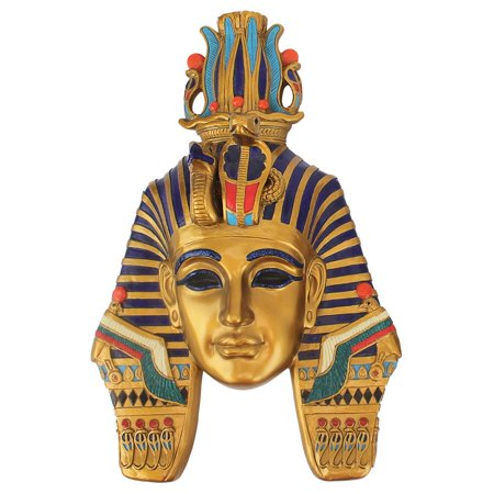 Masks Of Egyptian Royalty Mighty Pharaoh Wall Sculpture