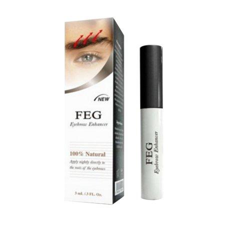 ZEDWELL 3ml Eyebrow Eye Brow Growth Length Thickness Darkness Enhancer Serum 100% Natural