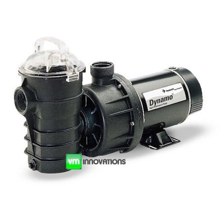 PENTAIR 340197 Dynamo Above Ground Swimming Pool Spa 1 Hp Pump w/Cord DYNII-IN