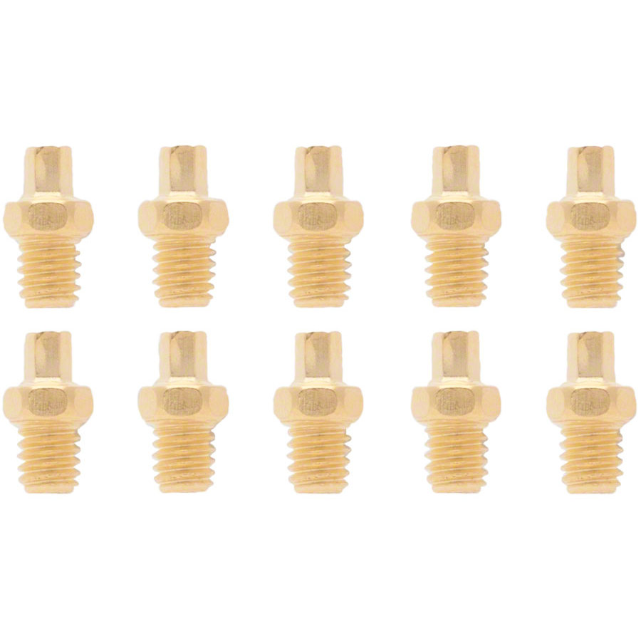 Straitline Gold Platform Pedal Replacement Pins (10)