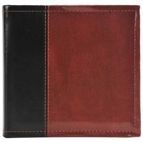 Pinnacle Frames and Accents 1-Up Two-Tone Brown Album