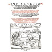 Introductio Geographica Frontispiece 1532 Poster Print by Science Source