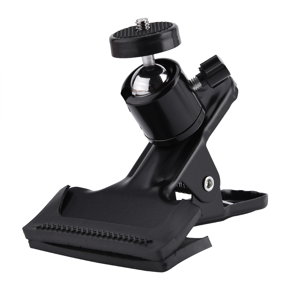 Ashata Camera Clip Photography Metal Clip Clamp Holder Mount with Standard Ball Head 1/4 Screw , 1/4 Camera Mount Clamp,Camera Clamp Mount