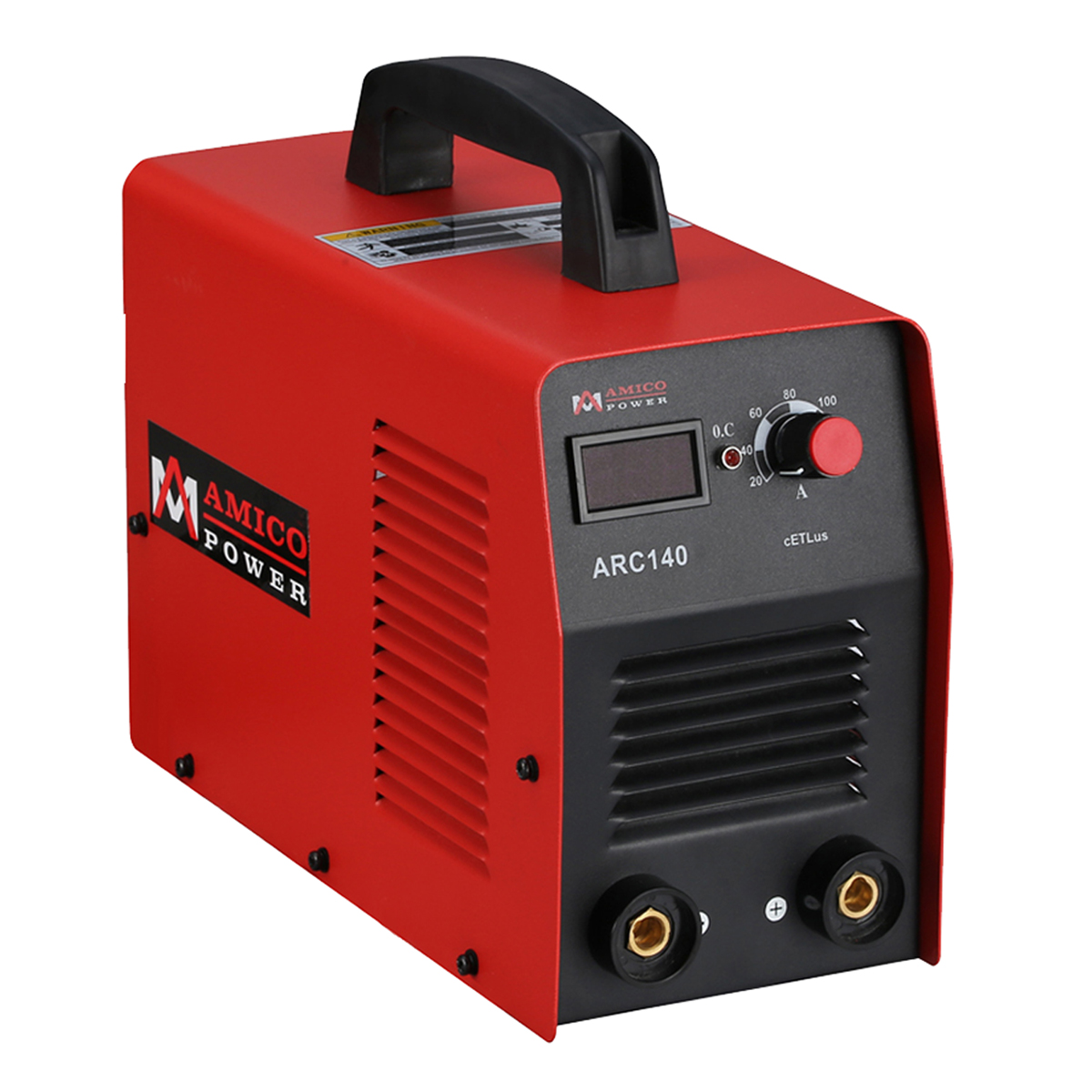 140 Amp ARC Stick DC Inverter Welder Digital Display LCD Welding Machine