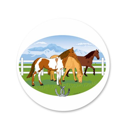 Riding Horses Edible Icing Image Cake Decoration Topper -1/4 Sheet](Horse Cake Ideas)