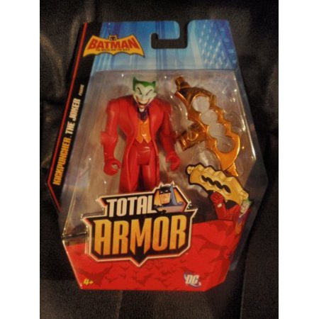 The Brave and the Bold Total Armor Kickpuncher Joker, Batman: The Brave and the Bold Total Armor 6 Action Figure from Mattel By Batman From USA - Batman Armor For Sale