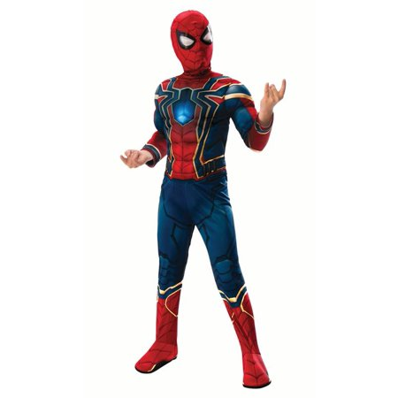 Party Boy Houston Halloween Costumes (Rubies Deluxe Iron Spiderman Boys Halloween)