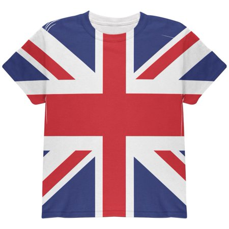 British Flag Union Jack All Over Youth T