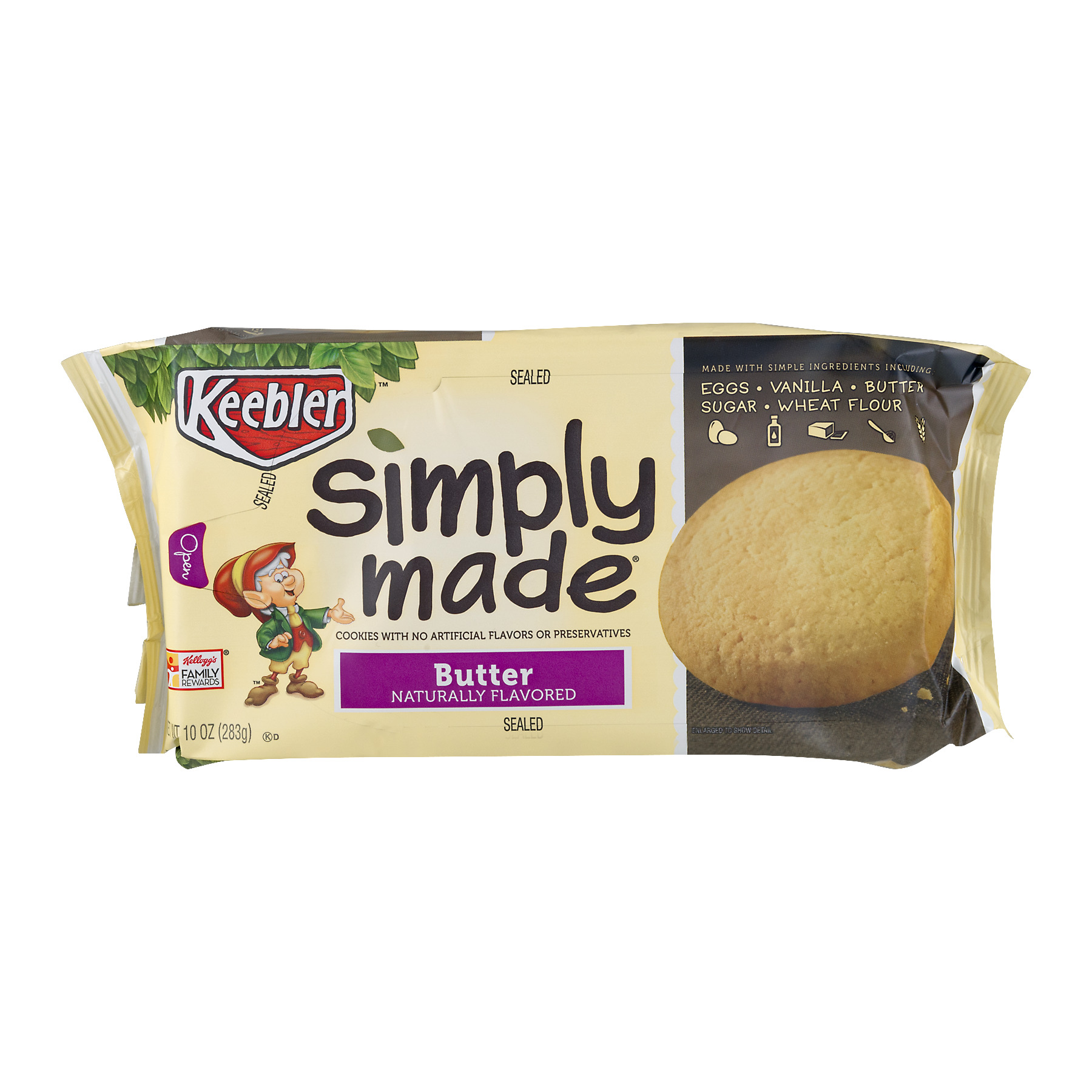 (Pack of 3) Keebler Cookies, Butter $0.23/Oz, 6.68 Oz