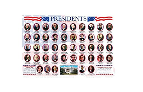 Painless Learning Presidents Placemat by Painless Learning