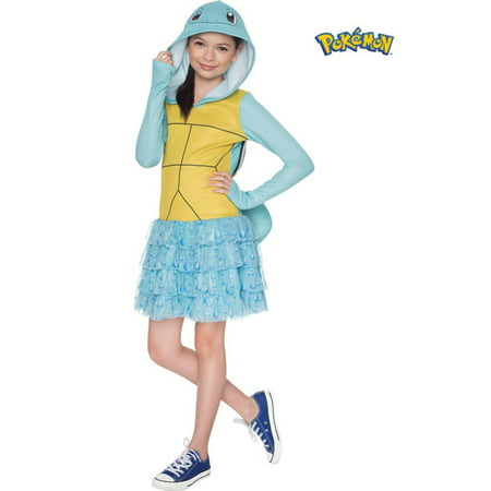 Pokemon Girls Squirtle Hooded Costume - Squirtle Girl