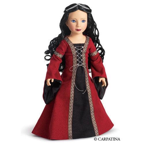 Carpatina Veronika Medieval Princess 18'' Slim Vinyl Doll