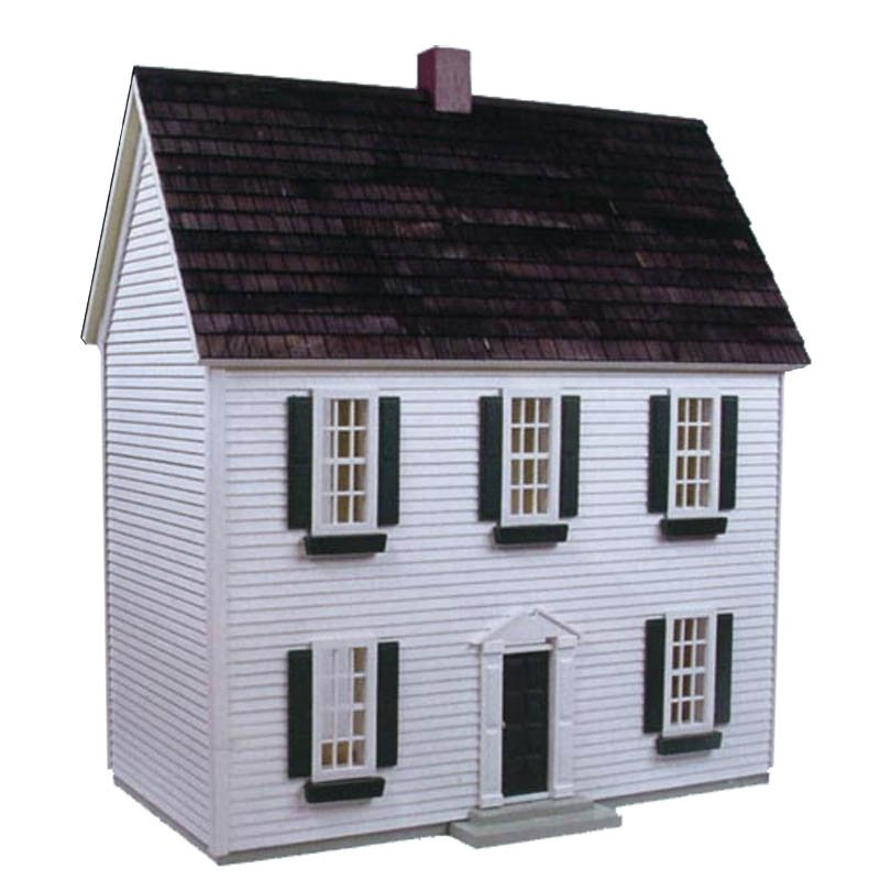 Real Good Toys Colonial Dollhouse Kit - 1\/2 Inch Scale