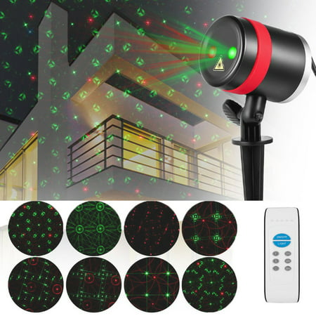 Projector Laser Lights Ip65 Waterproof With Rf Wireless Remote Star Show For Christmas