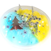Christmas Slime Soft Mixing Tricky Putty Scented Stress Relief Toy Sludge Toy