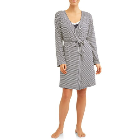 Nurture by Lamaze Maternity 2-Piece Nursing Chemise and Robe Set - Available in Plus Size for $<!---->