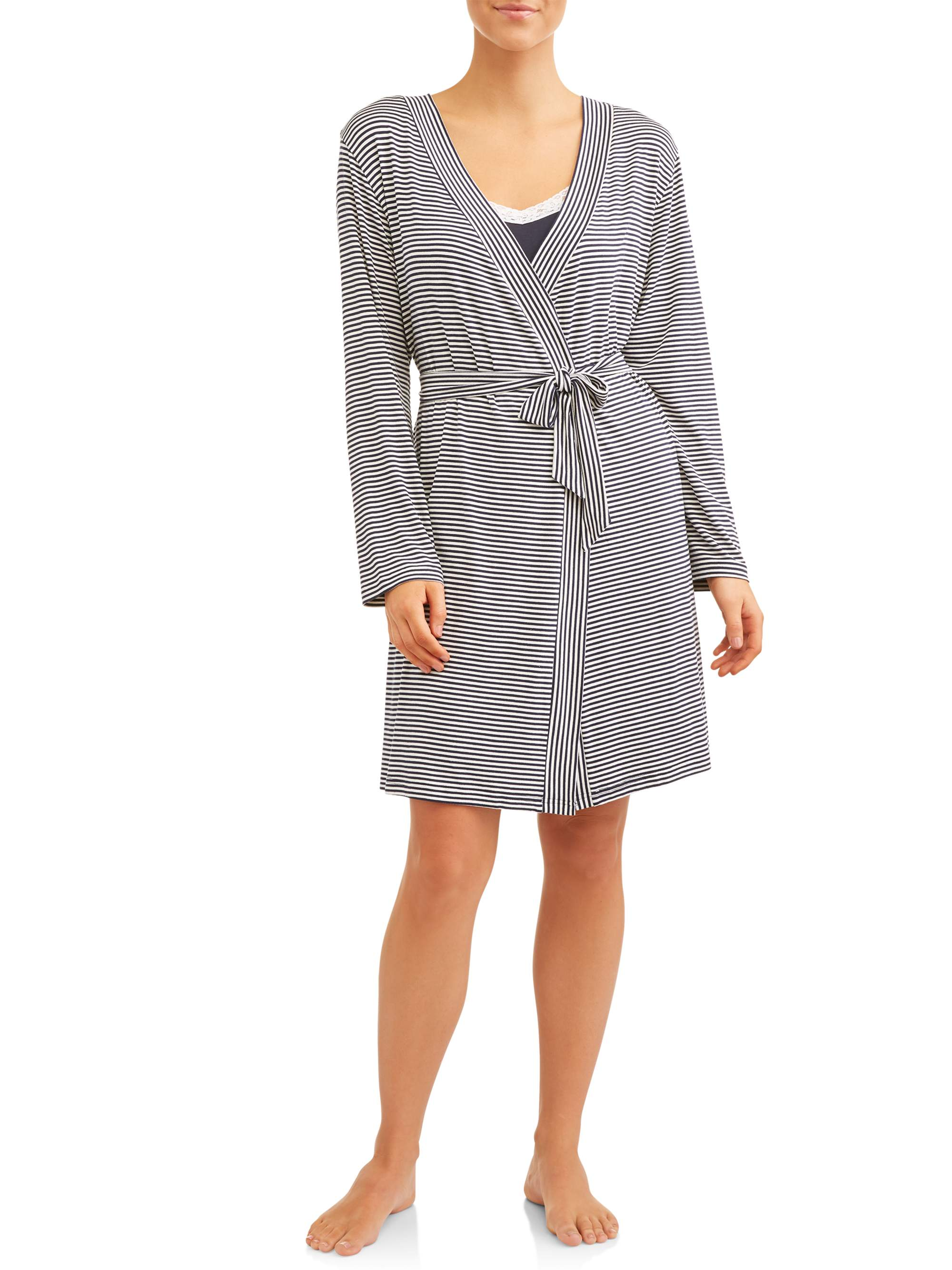 Nurture by Lamaze Maternity 2-Piece Nursing Chemise and Robe Set - Available in Plus Size