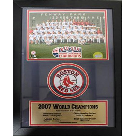 MLB Boston Red Sox Champions Patch Frame, 12x18
