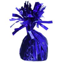 Mayflower 84390 175g Fringed Foil Weight Balloon - Royal Blue