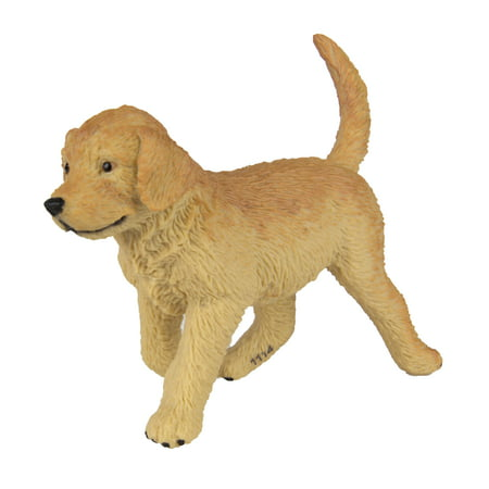 Safari Ltd Best in Show - Golden Retriever Puppy - Realistic Hand Painted Toy Figurine Model - Quality Construction From Safe and BPA Free Materials - For Ages 3 and Up