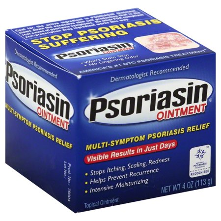 Psoriasin Deep Moisturizing Topical Ointment 4 Oz