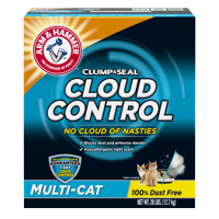 Arm & Hammer Cloud Control Clumping Cat Litter (Multiple Sizes)