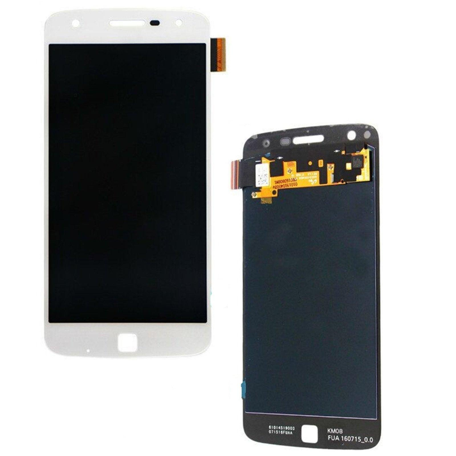 Motorola Moto Z Play XT1635 LCD Screen and Digitizer Touch Screen Assembly  Replacement - White