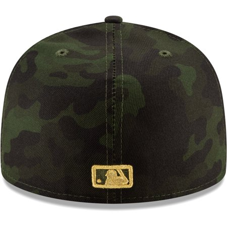 promo code 3ea30 536a9 Oakland Athletics New Era 2019 MLB Armed Forces Day On-Field 59FIFTY Fitted  Hat - Camo - Walmart.com