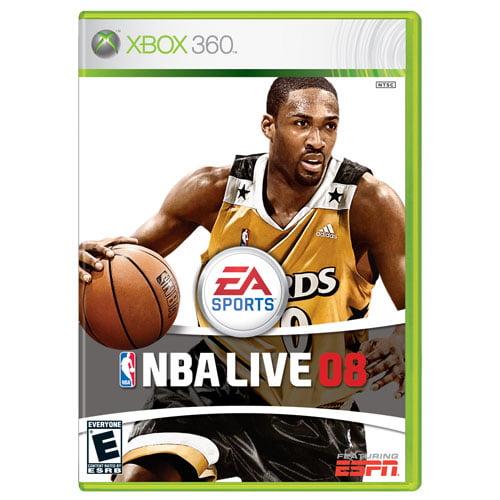 NBA Live 08 - Xbox 360 - Walmart.com