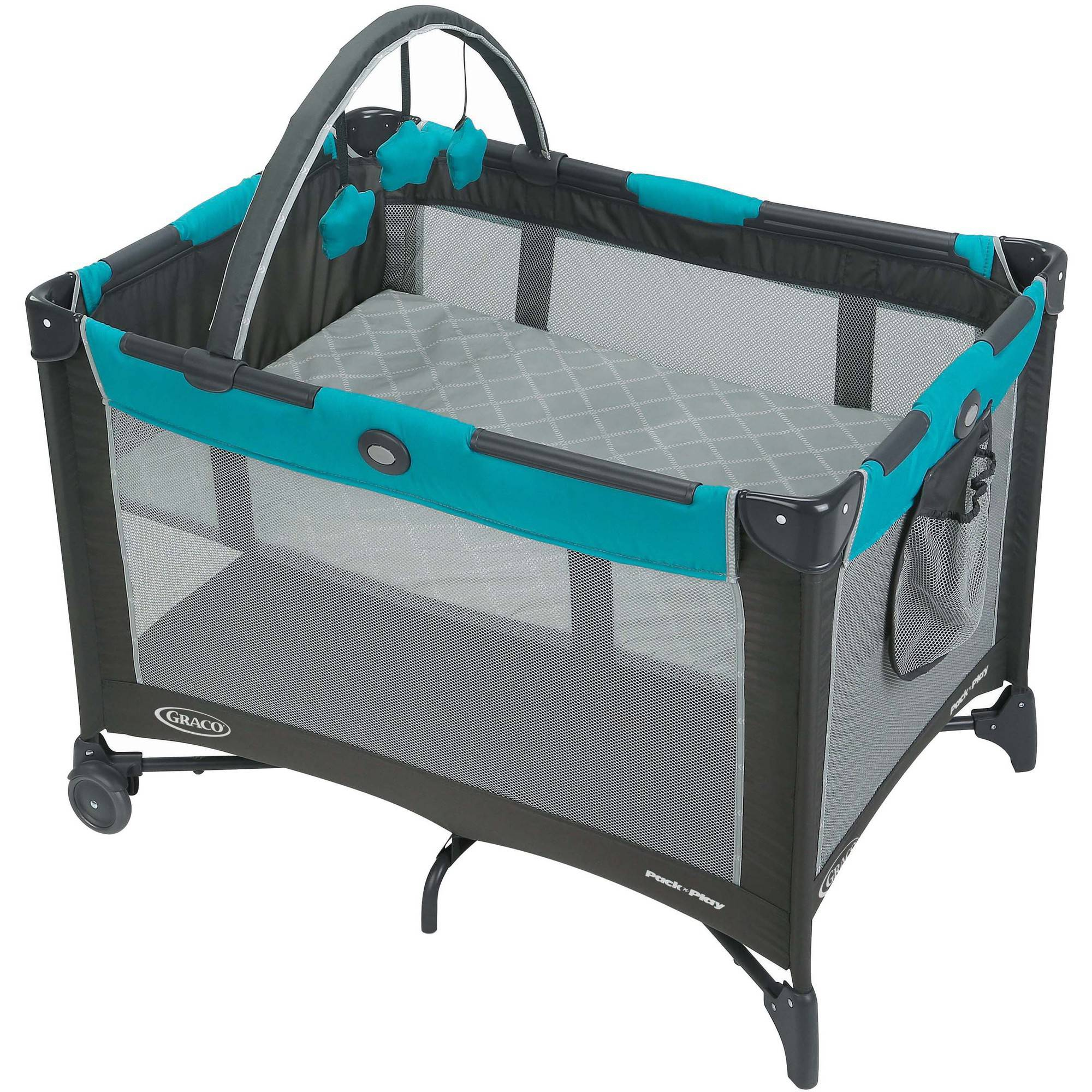 Graco Pack 'n Play On-The-Go Playard, Baby Play Yard, Finch