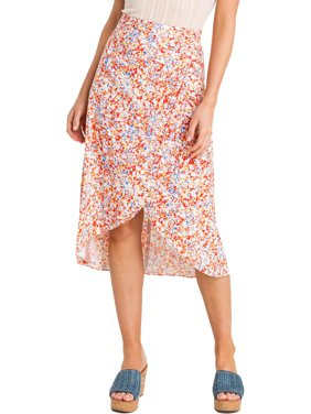 Lush Clothing Womens Woven Skirt