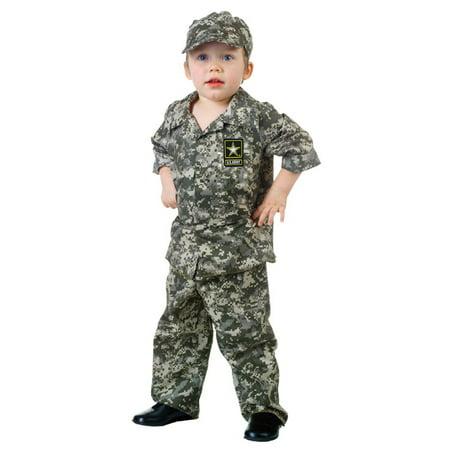 U.S. Army Camo Set Toddler Halloween Costume