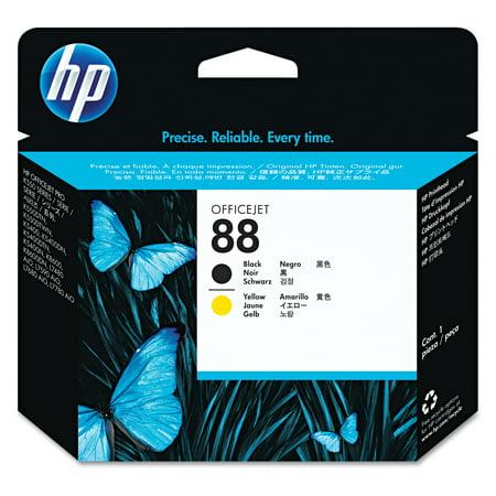 - HP 88, (C9381A) Black/Yellow Printhead