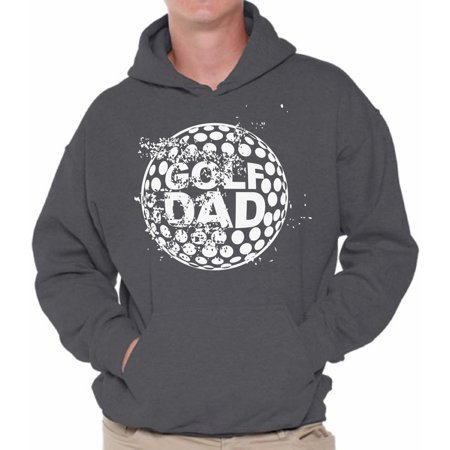 Awkward Styles Men's Golf Dad Graphic Hoodie Tops Golfing Best Golfer Father`s Day Gift Sports