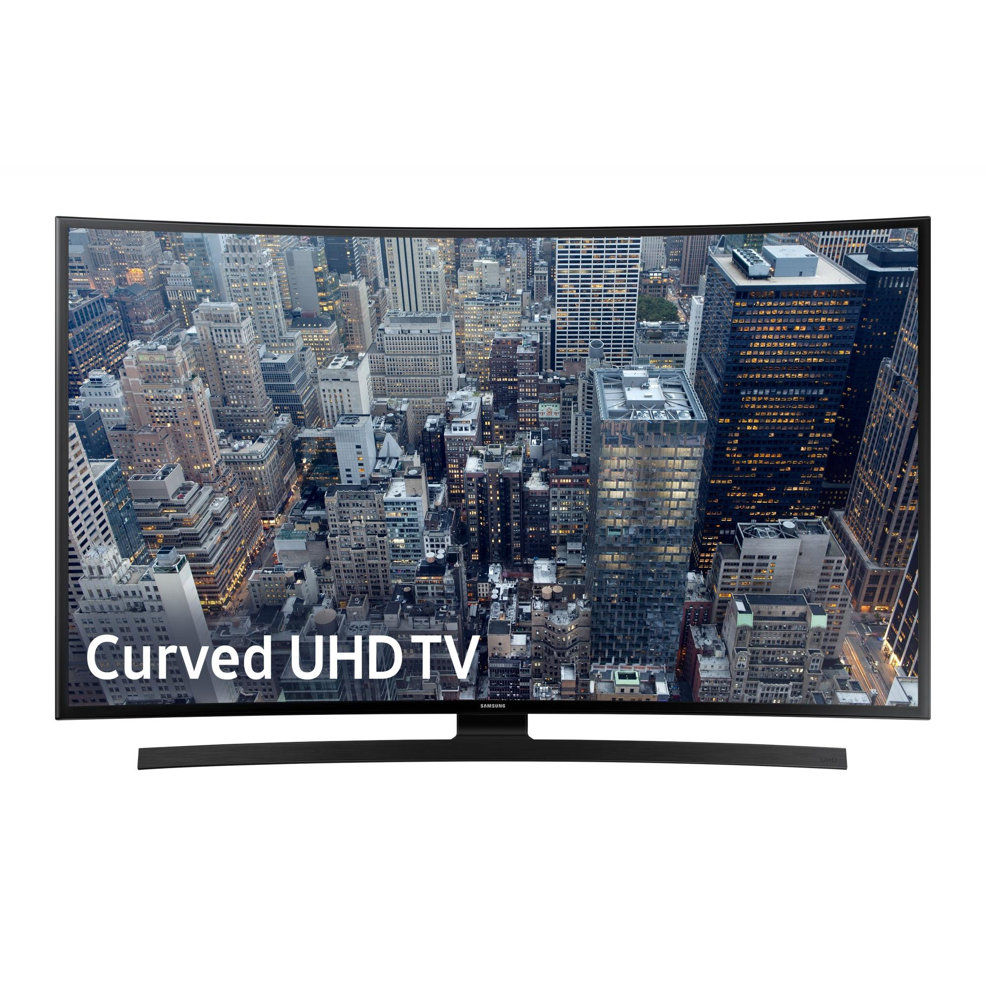 "SAMSUNG 65"" 6700 Series - Curved 4K Ultra HD Smart LED TV - 2160p, 120MR (Model#: UN65JU6700)"