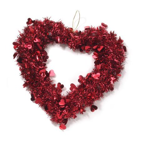 Valentine Heart Wreath - 14 inches